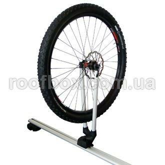 Велокрепление на крышу держатель колеса