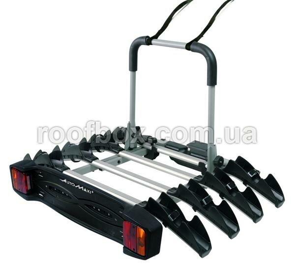 Велокрепление на фаркоп КРЕПЛЕНИЕ НА ФАРКОП<br />велосипедов: 4<br />Размеры в mm ( Д х В х Ш ) : 640 x 160 x 1060<br />Вес в кг