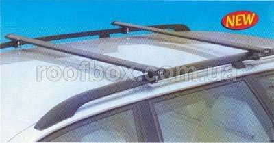 Фото - Автобагажник на крышу GeV стальной с овальным профилем профилем 23x58 мм