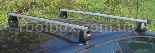 Фото - Автобагажник Skoda II алюминиевый аэродинамический профиль