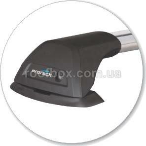 Автобагажник на крышу Prorack (компактный) алюминиевый, усиленный, готовый к установке