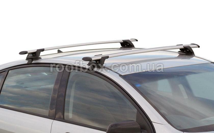 Автобагажник на крышу Prorack (сквозной) алюминиевый, усиленный, готовый к установке
