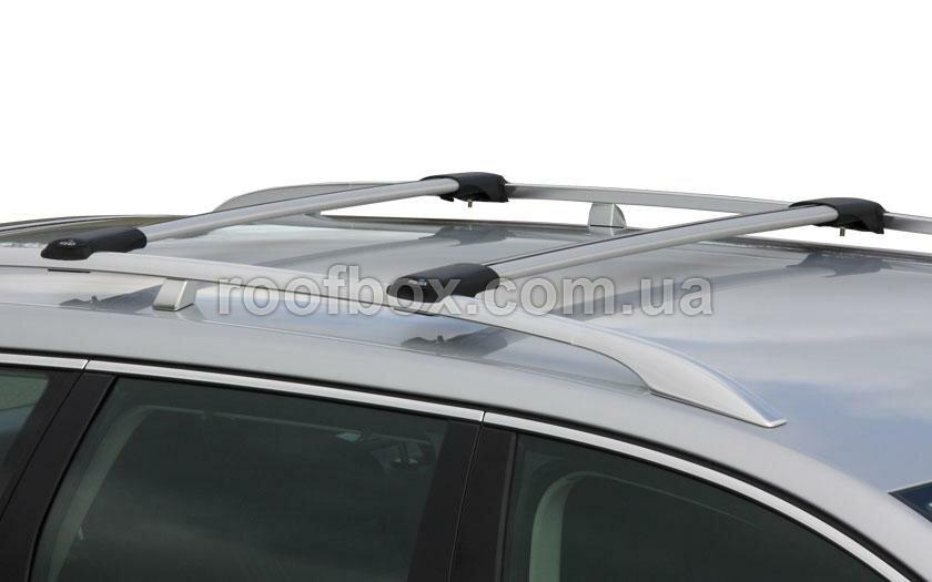 Автобагажник на крышу Prorack алюминиевый с аэродинамическим профилем под рейлинг