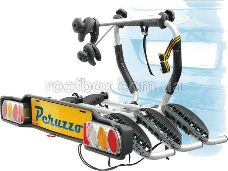 Велосипедное крепление на фаркоп Peruzzo Siena стальное для четырех велосипедов